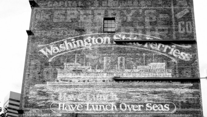 Interurban Building (Ghost Signs Seattle)