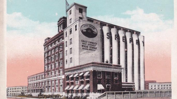 Sperry Flour Mill Spokane, WA