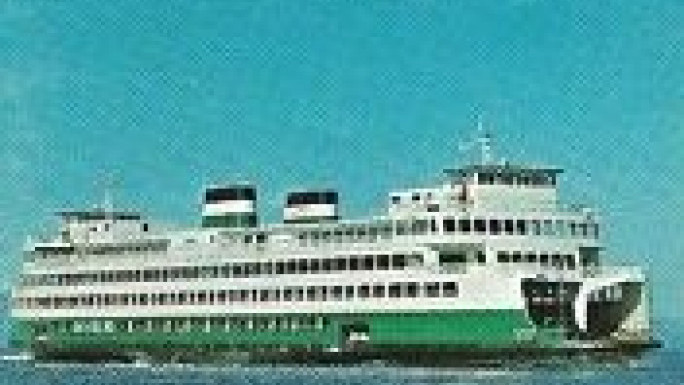 Washington State Ferry Brochure from 1970