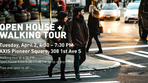 Pioneer Square East West Pedestrian Improvements open house + walking tour