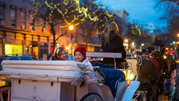 Horse-Drawn Carriage Rides in Occidental Square!