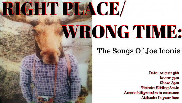 Right Place / Wrong Time: The Songs of Joe Iconis