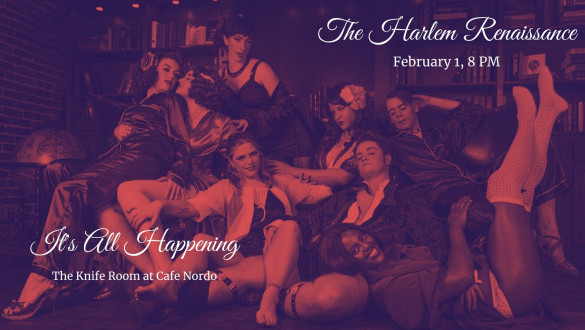 It's All Happening: The Harlem Renaissance