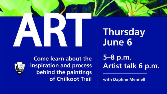 Chilkoot Trail Art Exhibit Opening