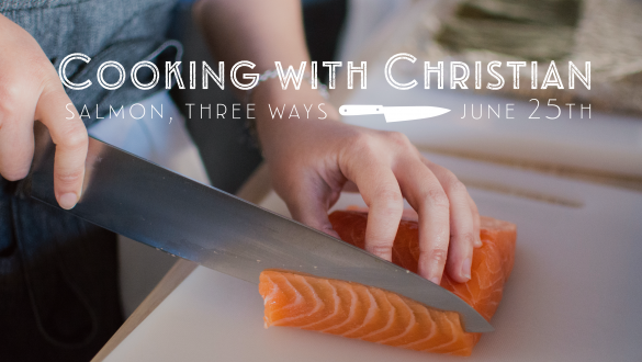 Cooking with Christian!