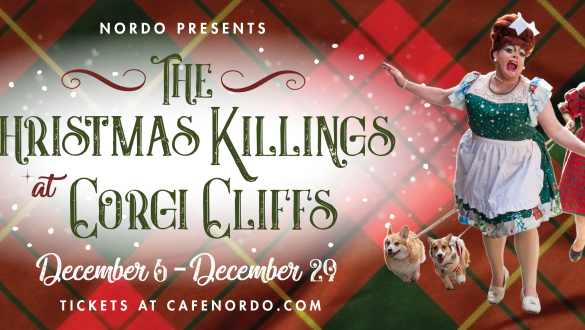 The Christmas Killngs at Corgi Cliffs