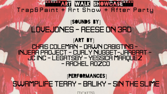 Hard In The Paint: Art Show & Trap Paint Party