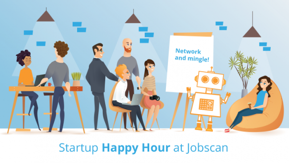 Startup Happy Hour at Jobscan