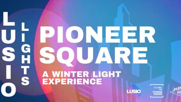LUSIO Lights Pioneer Square