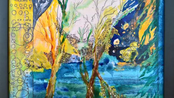 Darlene Lucas = Artist Reception - Simultaneity .. Space-Time
