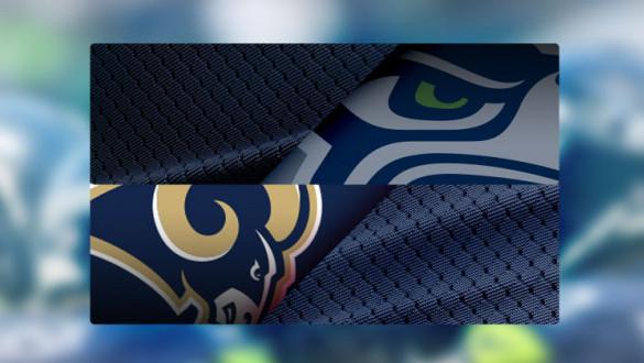 Seattle Seahawks Vs Los Angeles Rams Pioneer Square