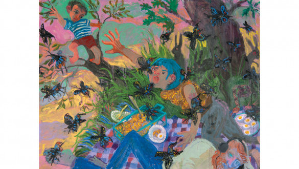 PICNIC AT SUNSET | new works by Ashley Norwood Cooper