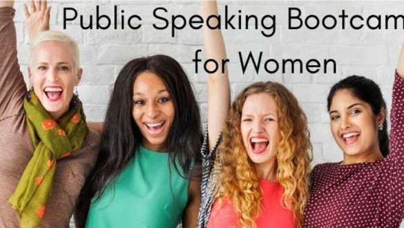 Public Speaking Bootcamp for Women x Armoire by Alicia Dara