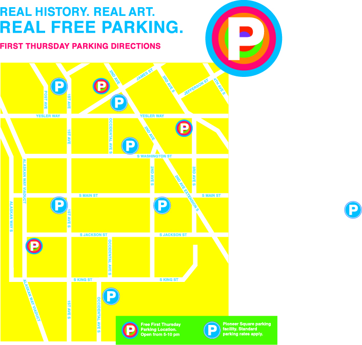 First Thursday Art Walk + FREE Parking | Pioneer Square