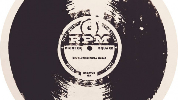 RPM<br> Pizza and Records